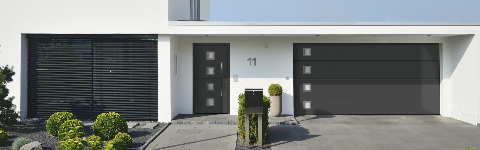 Startbild Haustüren und Garagentore
